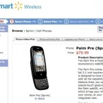 Palm Pre now $79.99 at Walmart