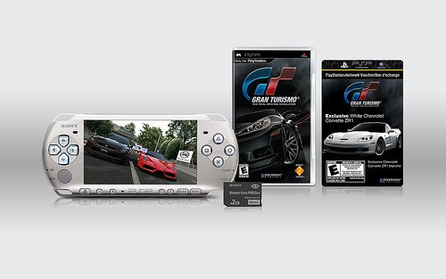 New limited edition Gran Turismo PSP Entertainment Pack