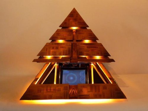 Pyramid HTPC casemod