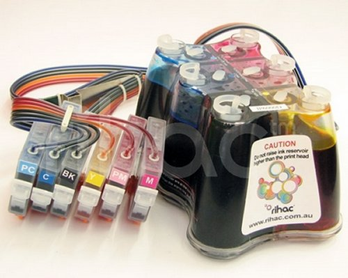 Rihac ink supply systems for inkjet printers