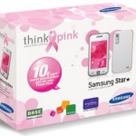 Samsung Star Think Pink Edition helps fight breast cancer