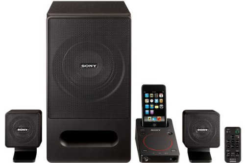 Sony SRS-GD50iP iPod dock with USB speakers