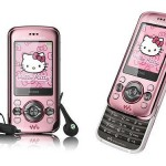 Limited edition Hello Kitty Sony Ericsson W395