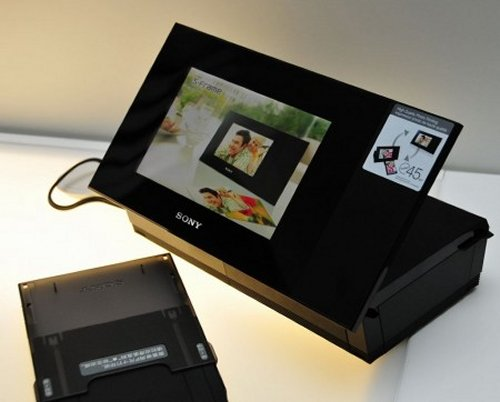 Sony DPP-F700 Digital Photo Frame and printer $293