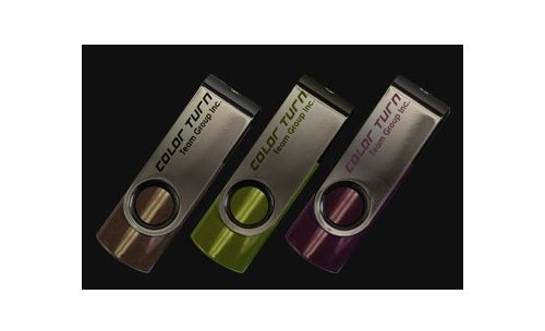 Team announces Color Turn flash drives