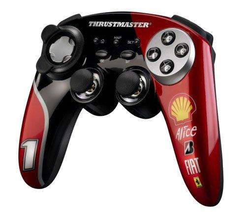 Thrustmaster unveils Ferrari gamepads
