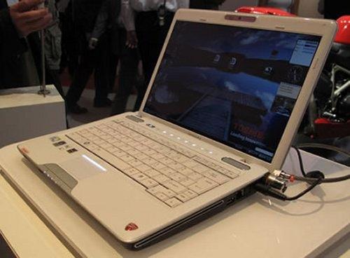 Toshiba unveils U500 Ducati laptop
