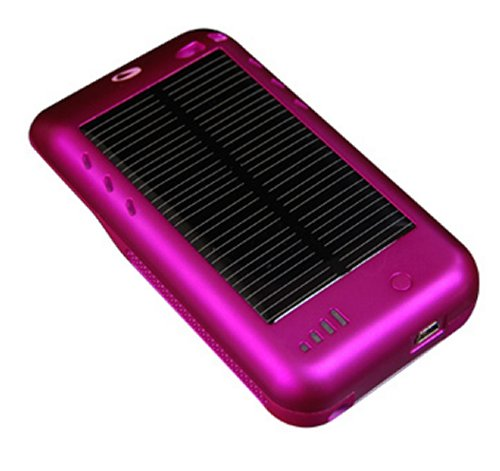 Solar powered Surge iPod Touch Recharger