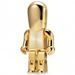 USB Man in gold and silver