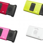 JVC SP-A130 iPod nano-matching portable speakers
