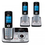 VTech DS6321-3 home phone merges cellular contacts with landline
