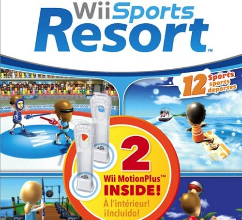 Wii Sports Resort bundle with two MotionPlus accessories
