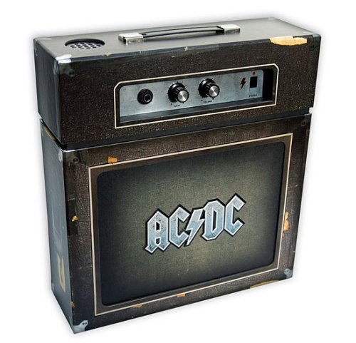 AC/DC Box Set includes a working guitar amp