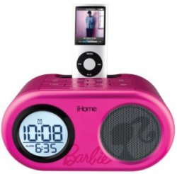 Barbie iHome iPod dock speakers