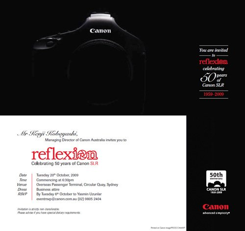 Canon EOS 1D Mark V due tomorrow?