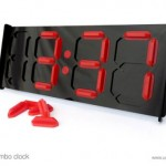 Manual digital clock makes for a long day