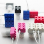 Elecom LEGO brick headphones
