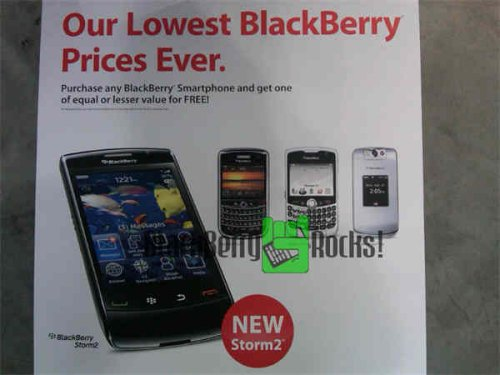 Buy one get one for the BlackBerry Storm2?