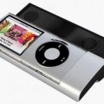 Green Power&#039;s sliding speaker for iPod