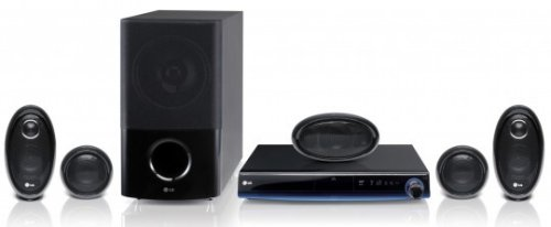 LG HB954SP Blu-ray 5.1 home cinema system with iPod dock