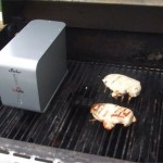 ioSafe heating on grill