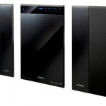 JVC SP-FT 31mm thin home theater speaker system