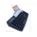 KeyScan Keyboard with Integrated Scanner
