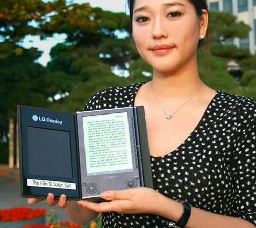 Solar Cell e-Book from LG