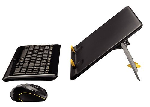 Logitech Notebook Kit MK605 turns your laptop into a desktop, sort of