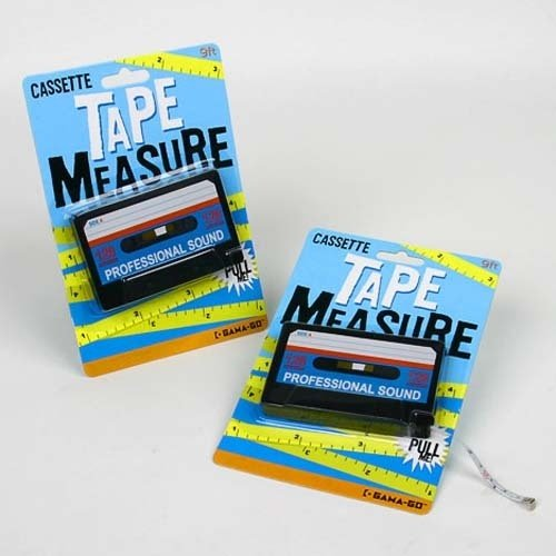 Cassette Tape Measure for 80s DIY projects