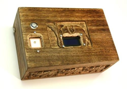 GPS Puzzle Box will only opens in a specific location