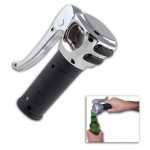 Motorcycle Grip Bottle Opener