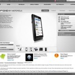 Motorola Droid official webpage leaked early