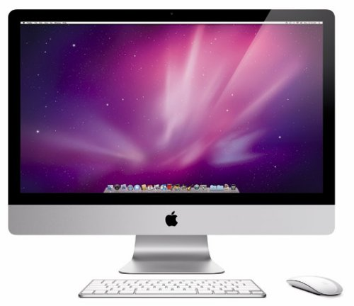 iMac line gets updated with 16:9 displays, quad-core Core i5