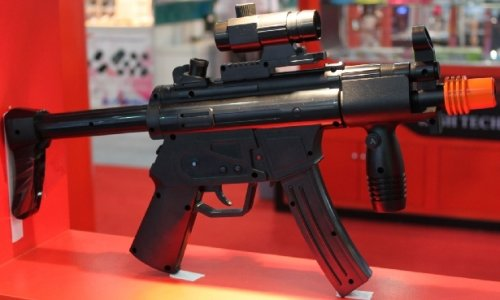 Wii custom-made Heckler and Koch MP5 controller