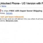Pre-order your Nokia E72 at Amazon