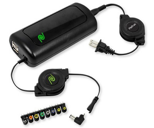 Emerge ReTrak Retractable Universal Notebook Charger