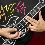 Forget Air Guitar, play the Rock Guitar Shirt
