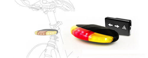 LED Bike Light uses an Accelerometer to sense when you brake