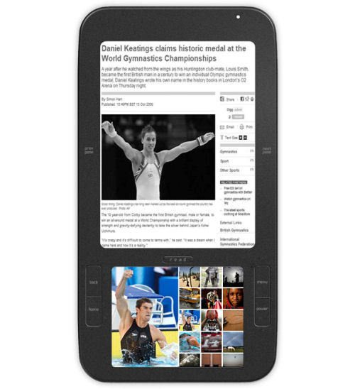 Spring Design's Alex eReader rocks Android, with dual displays