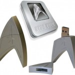 New Trek movie loaded on 4GB Star Trek Flash Drive