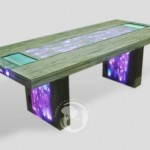 Stardust Multimedia Table with dual touchscreens