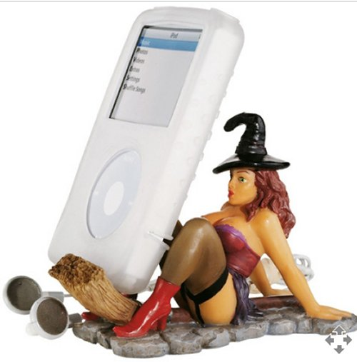 Sexy Witch iPod holder