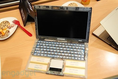 Transparent Sony VAIO X spotted