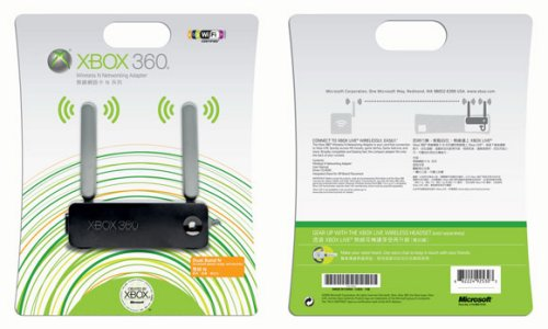 Xbox 360 Wireless N Adapter coming November 3rd, $100