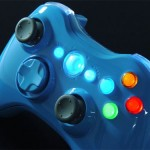 Blue Blood Xbox 360 Controller looks pretty cool