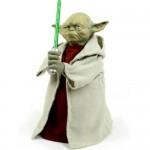 Yoda light-up Christmas tree topper