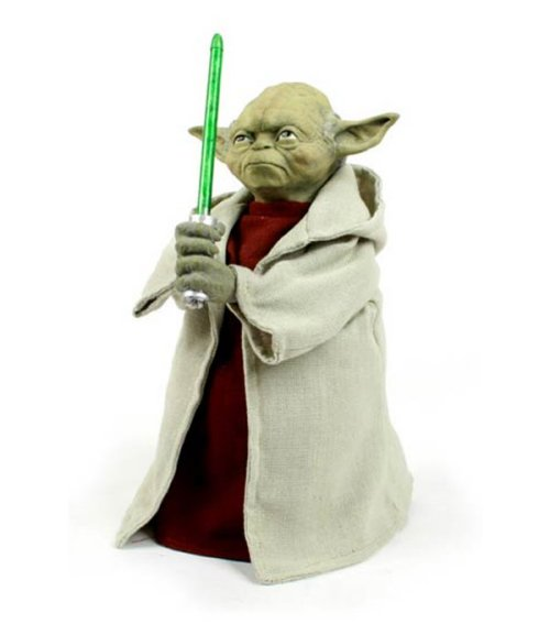 Yoda light-up Christmas tree topper