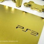 PS3 Slim dipped in 24kt gold