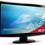 Acer H243HXB 24-Inch LCD monitor with built-in webcam